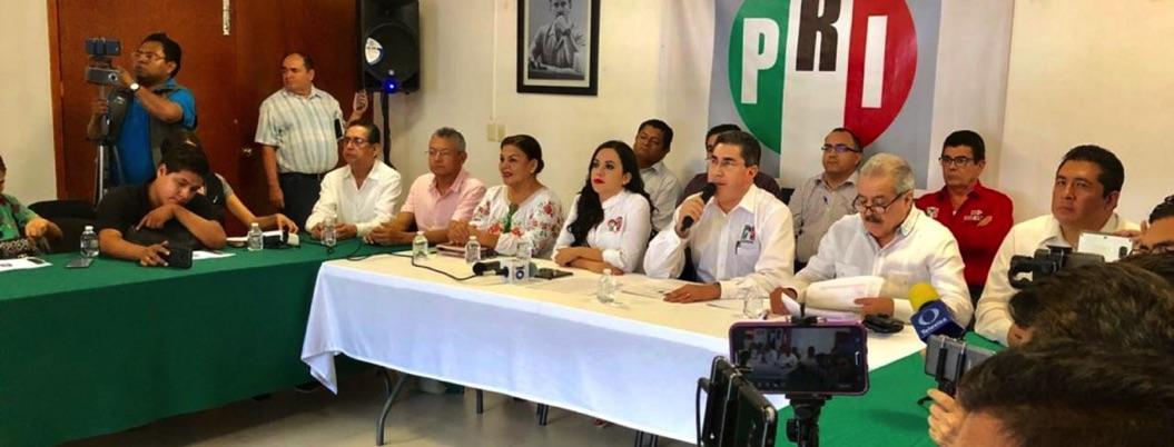 Nada que presumir, balbucea el PRI Guerrero ante informe de AMLO