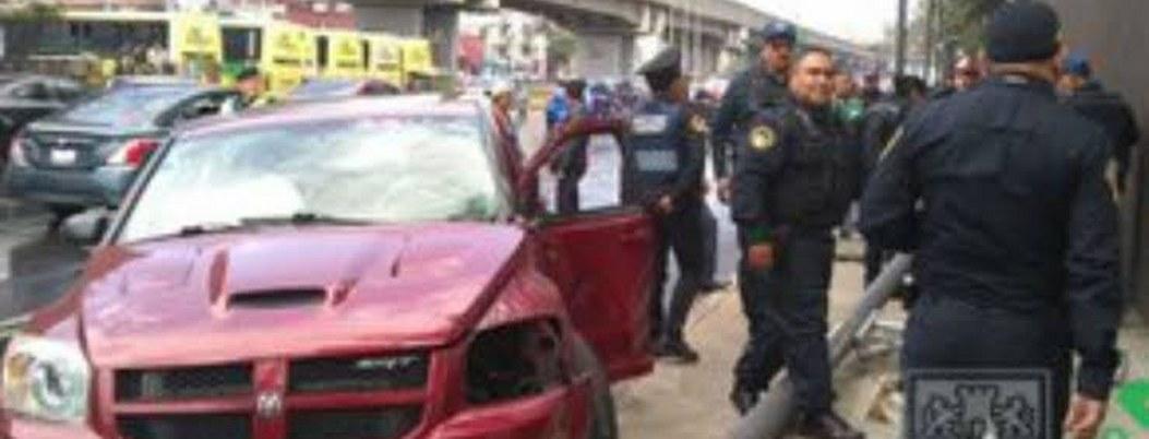 Detienen a joven que atropelló a 2 policías en Iztacalco