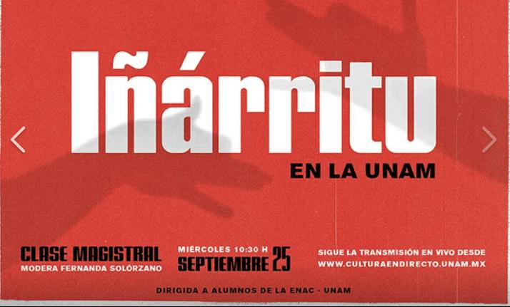 inarritu en la UNAM