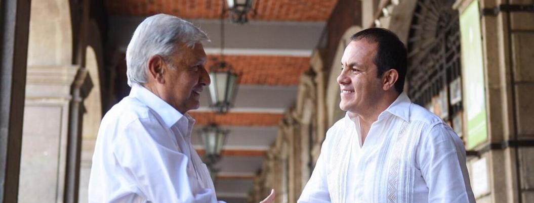 """Gobierno no es el DIF"", aconseja Andrés Manuel a Blanco"