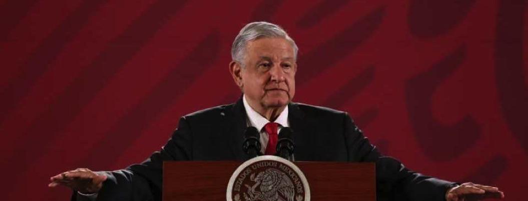 Seguirá refiriéndose a expresidentes para explicar crisis actual, señala AMLO