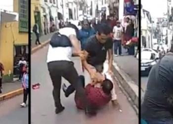 Funcionarios prepotentes agreden a comerciantes indígenas en Puebla 9