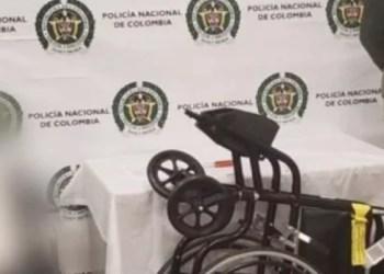Narco viejita intentaba llevar droga en silla de ruedas a España 2