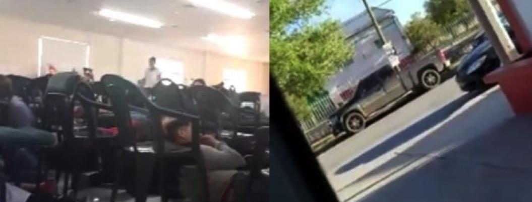 Pobladores de Chihuahua viven el terror de una balacera | VIDEO