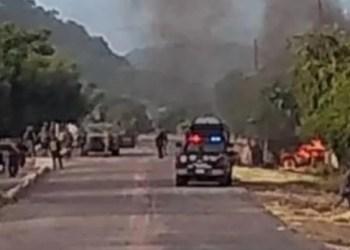 Emboscada del CJNG dejó 13 policías asesinados, corrigen 7