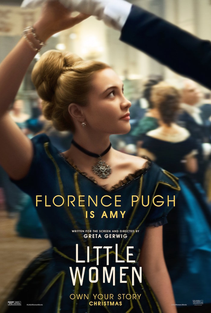 Florence Pugh personifica a Amy.
