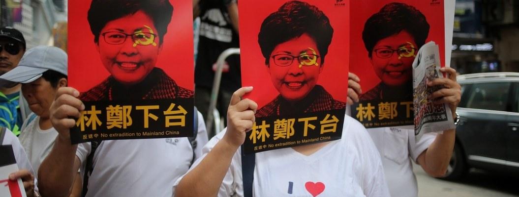 Hong Kong en riesgo de caer recesión por 5 meses de protestas