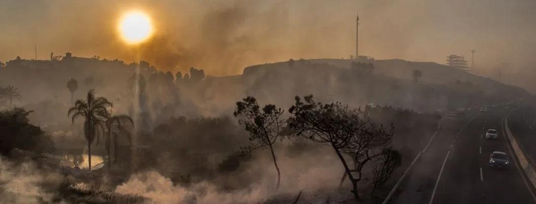 Protección Civil mantiene controlados incendios en Baja California