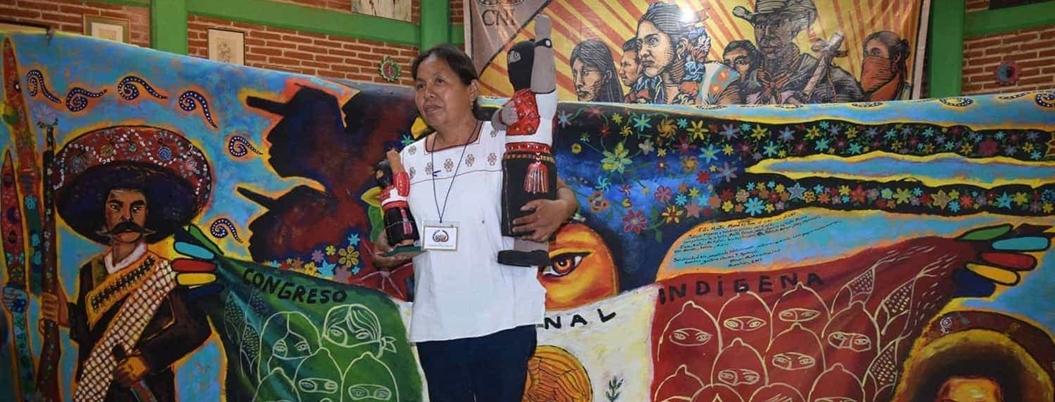 Marichuy acusa a AMLO de reprimir a pueblos originarios