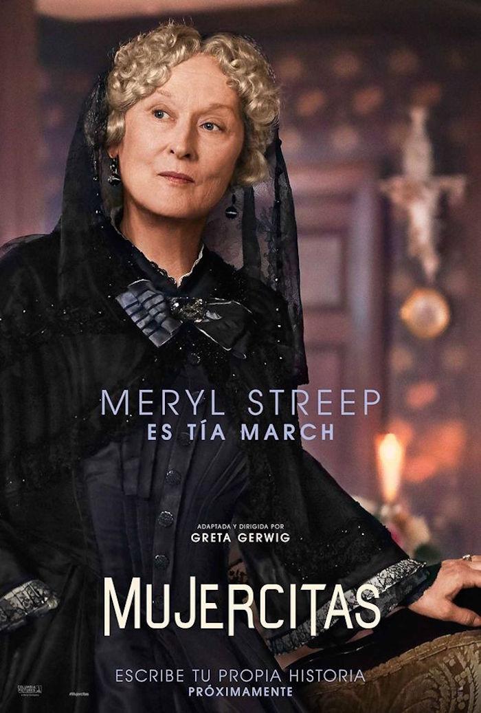 Meryl Streep es la Tía March.