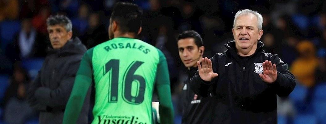 Aguirre y Leganés enfretarán reto ante Barcelona