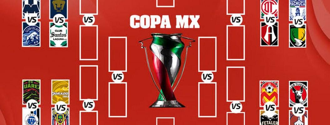 Copa MX: definidos los equipos que irán octavos de final
