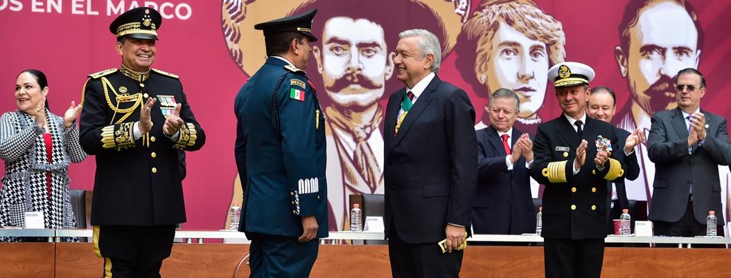 Mexicanos aún confían en sus fuerzas armadas