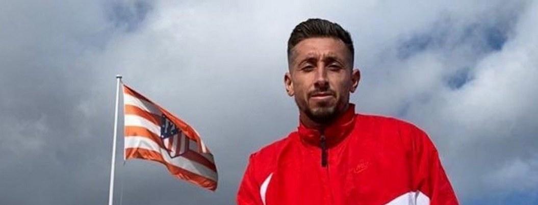 Herrera sin arrepentimientos con Atlético pese a poca participación