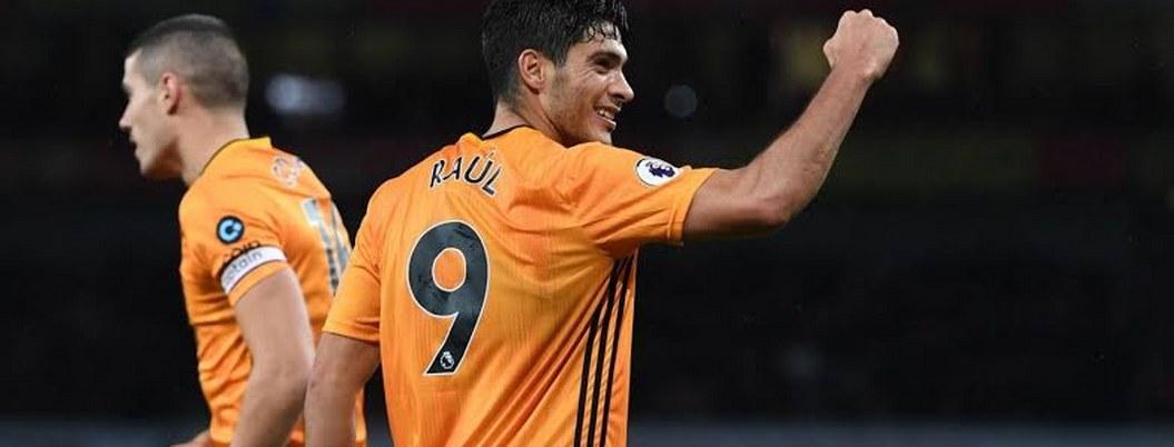 Raúl Jiménez en su mejor momento, llegó a 100 goles