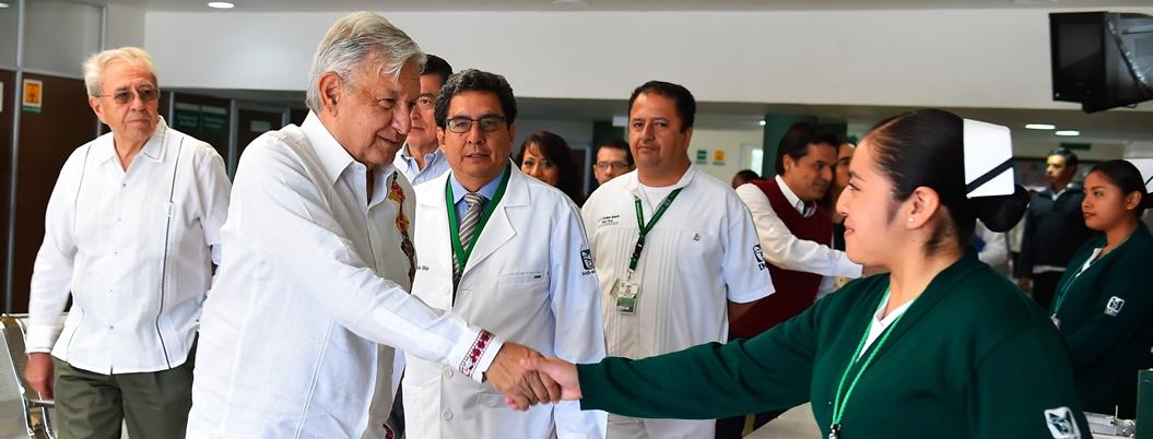 Conclusiones de hospitales mejorará servicios de salud, afirma AMLO
