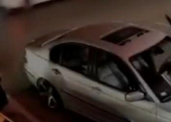 Sicario ejecuta a expolicías en Nuevo León   VIDEO MUY VIOLENTO 4