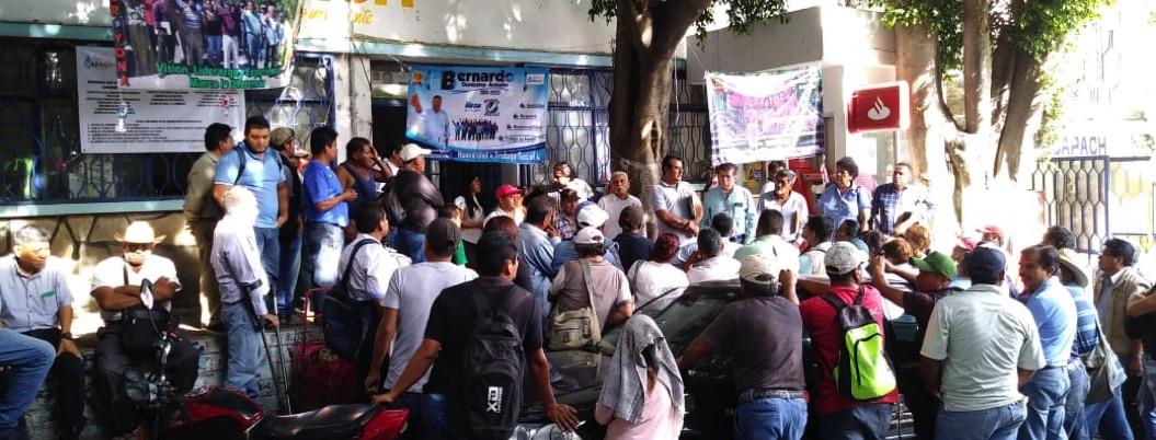 Empleados de Capach sopesan acudir a Conciliación por falta de pago