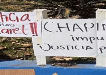 Estudiantes de Chapingo protestan por feminicidio de alumna 2