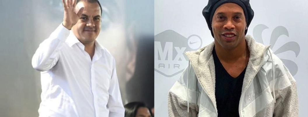Morelos, bañado en sangre y Blanco, ocupado en halagar a Ronaldinho
