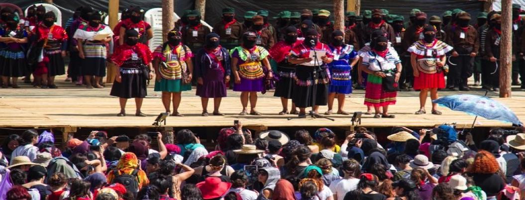 EZLN reúne a mujeres rebeldes de todo el planeta en Chiapas