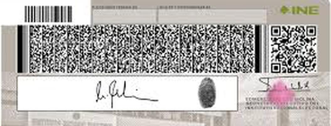 INE estrena credencial de elector con código QR