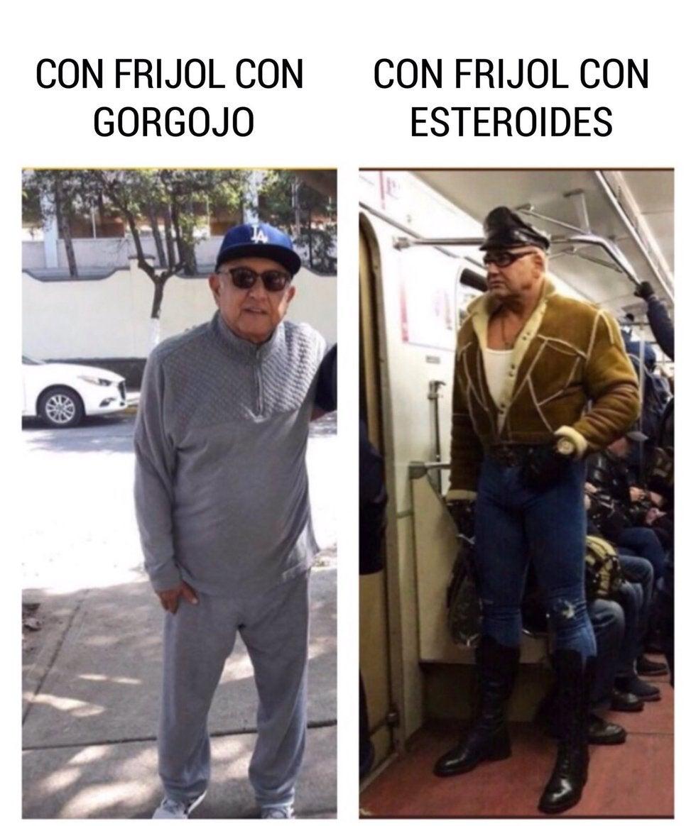 Encuentran a AMLO musculoso en el metro de NY; llueven los memes 3