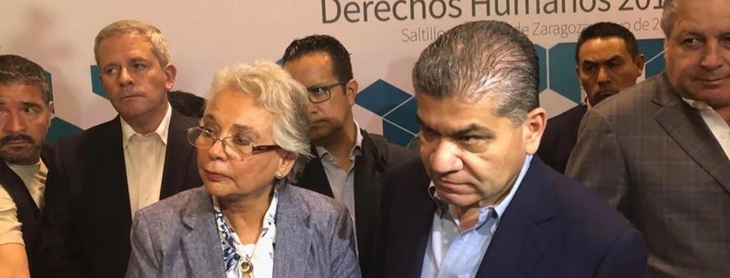 Segob alaba labores de seguridad del gobierno de Coahuila