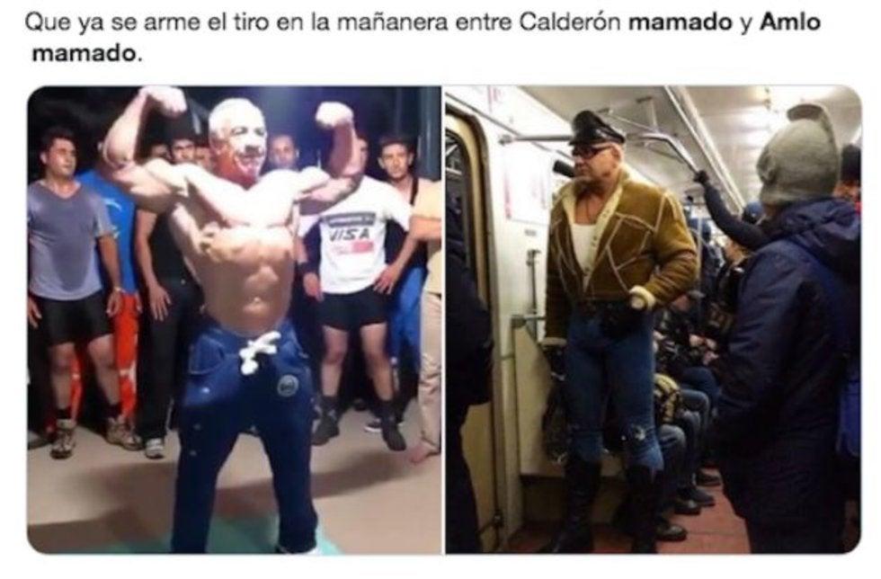Encuentran a AMLO musculoso en el metro de NY; llueven los memes 1