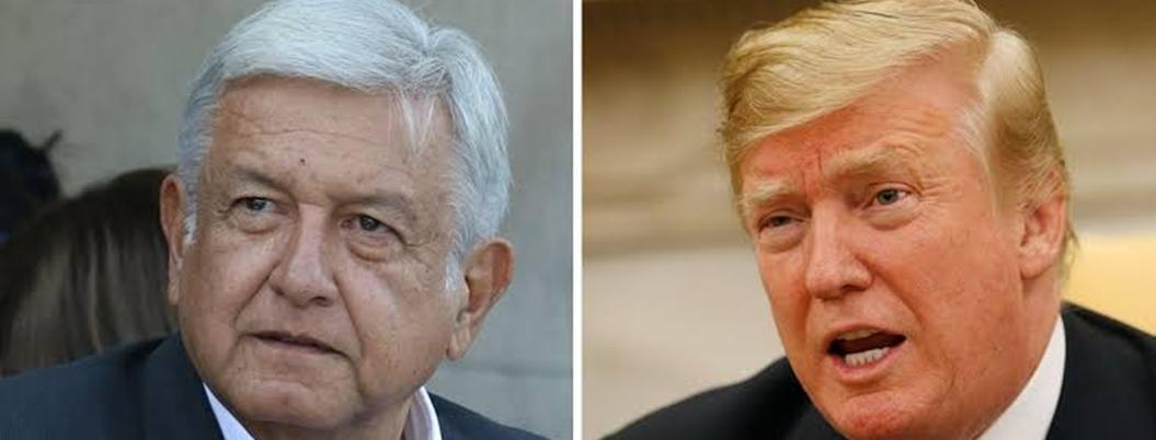 Obrador mantiene la paz con Trump a pesar de crisis migratoria