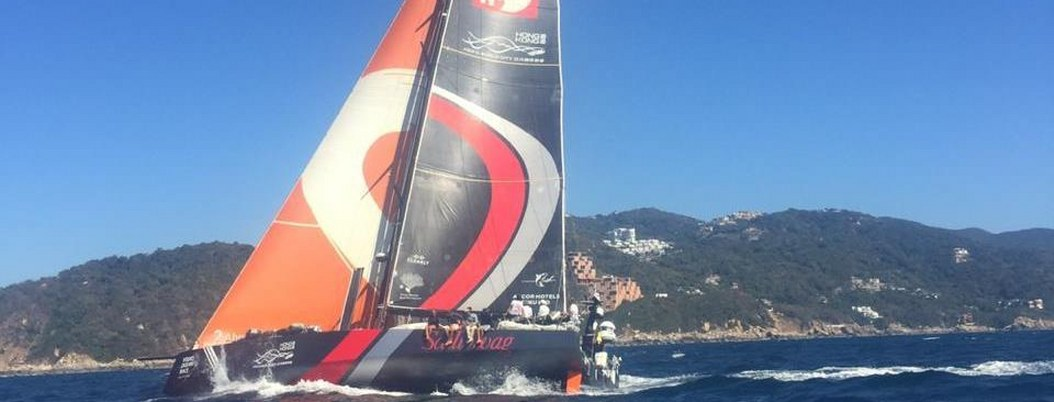 Barco que participará en The Ocean Race 2021-22 llega a Acapulco 1