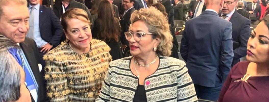 Alcaldesa de Acapulco asiste a reunión de embajadores y cónsules