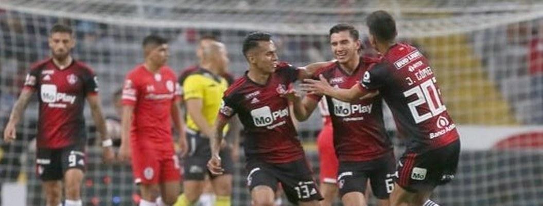 Atlas toma ventaja sobre el Toluca en octavos de final de Copa MX