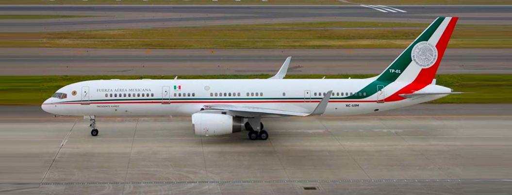 Empresario gringo compraría avión de Peña, pero con descuento