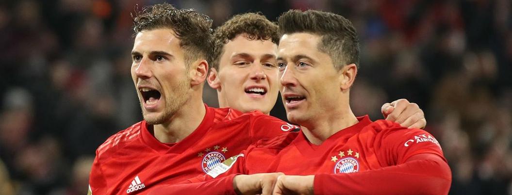 Bayern Múnich golea 5-0 al Schalke en la fecha 19 de Alemania