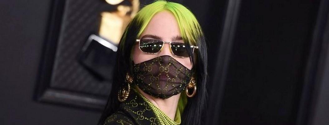 Billie Eilish arrasa en los Grammys 2020