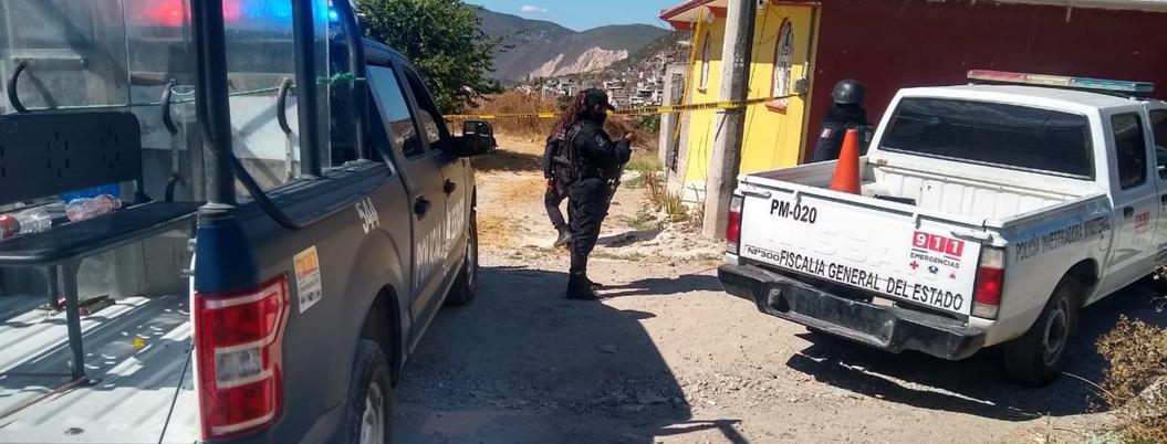 Asesinan a un hombre al oriente de Chilpancingo