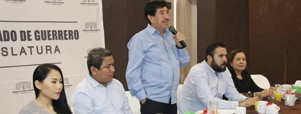 Helguera solicitará auditoría al Congreso de Guerrero