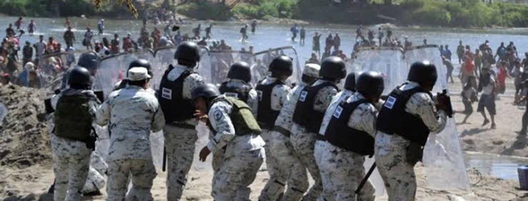 Durazo niega que Guardia Nacional sea el muro de Trump