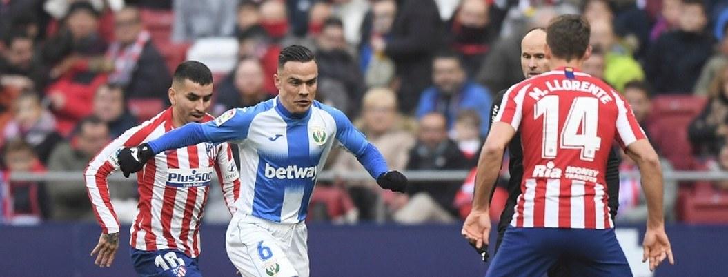 Leganés y Vasco empatan contra un Atlético decepcionado