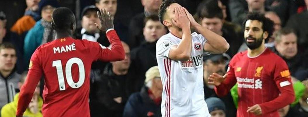Liverpool de Salah derrota al Manchester United 2 a 0