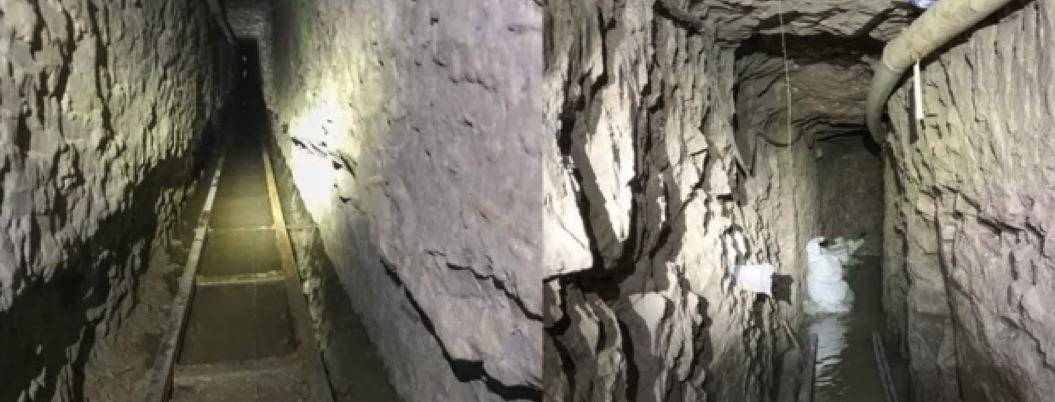 Descubren narco túnel gigante que conecta Tijuana con San Diego
