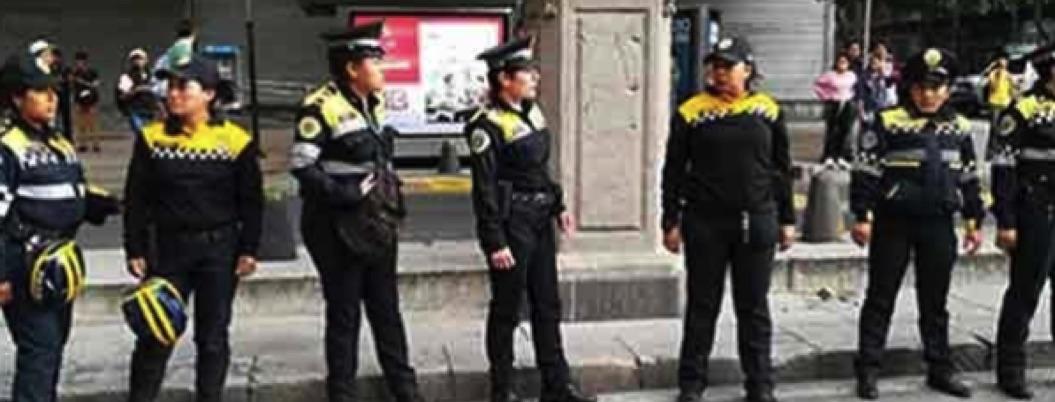 Feministas lesionan a mujeres policías en marcha en CDMX