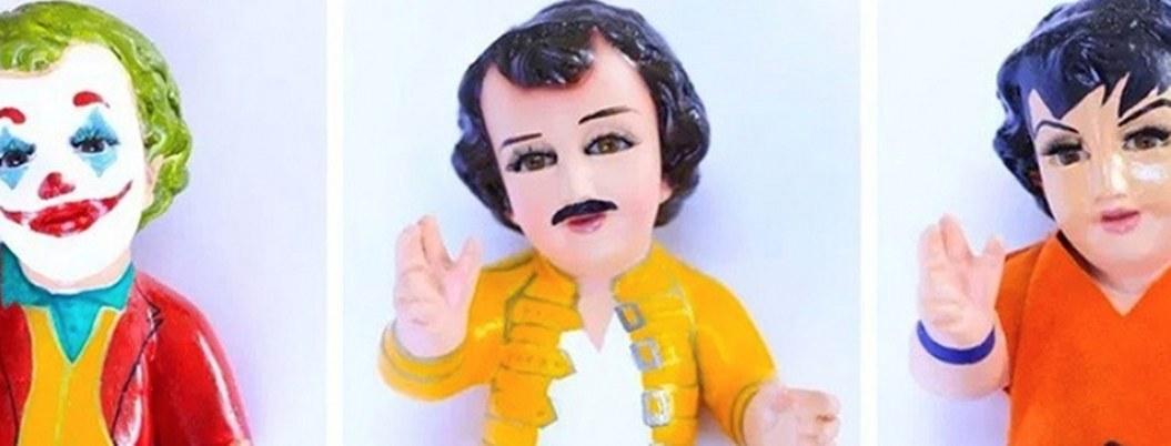 Niño Dios Gokú, Joker, entre otros, son fabricados en Cuernavaca