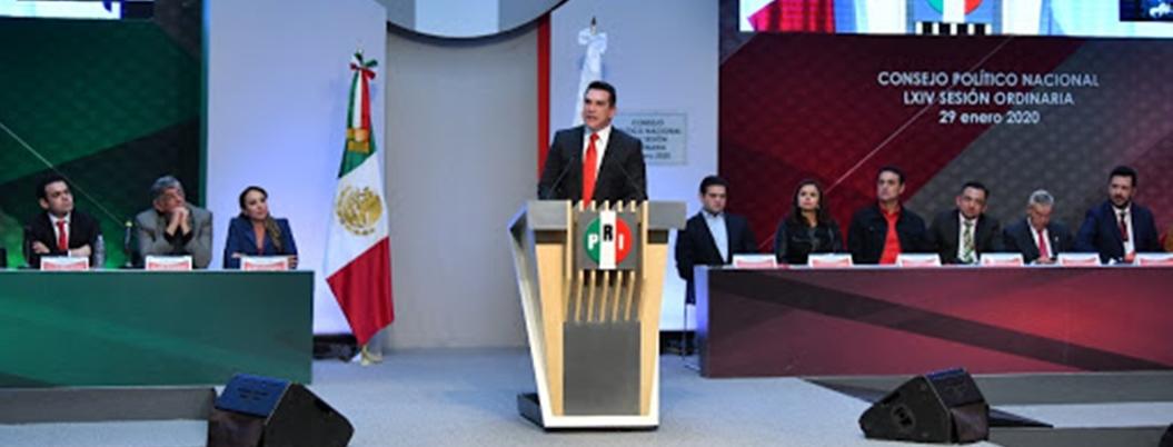 """""""PRI no es sinónimo de corrupción"""", alardea Alejandro Moreno"""