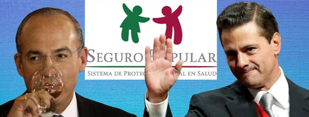 SFP indaga desfalco millonario en Seguro Popular con Calderón y EPN
