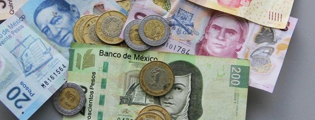 Moneda mexicana se recupera ante dólar, cotiza en 24.87
