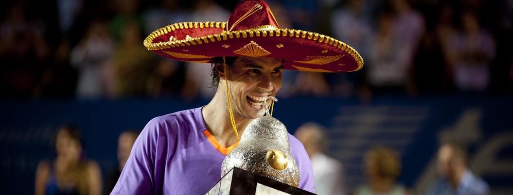 Adela Román contribuye al éxito del abierto de tenis en Acapulco