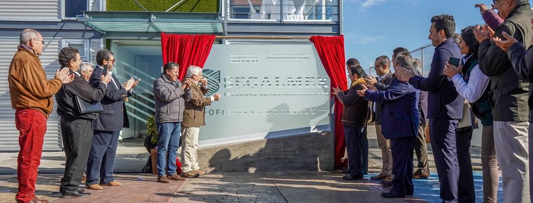 Inauguran oficinas centrales de Segalmex en Zacatecas
