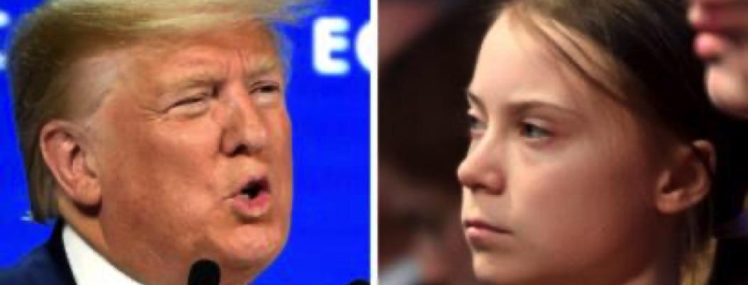 Planeta al borde de la catástrofe y Trump pelea con Thunberg